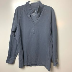duluth trading co womens large henley top